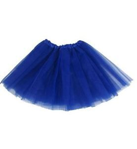 NWT-Hairbows-Unlimited-Tutu-Dance-Ballet-Skirt-Dress-Up-Fairy-Costume-ROYAL-BLUE