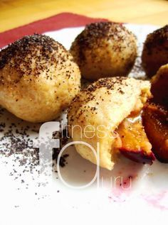 Špaldovo-zemiakové guľky so slivkami