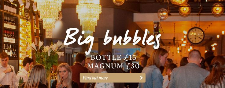Big Bubbles at All Bar One - £15 Prosecco & £30 Magnums Every Friday