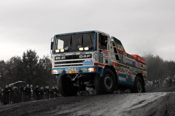 Jan de Rooy - DAF Turbo Twin 95 X1 - 2007- Valkenswaard farewell to de Rooy