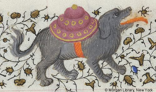 Book of Hours, MS M.1004 fol. 127v - Images from Medieval and Renaissance Manuscripts - The Morgan Library & Museum