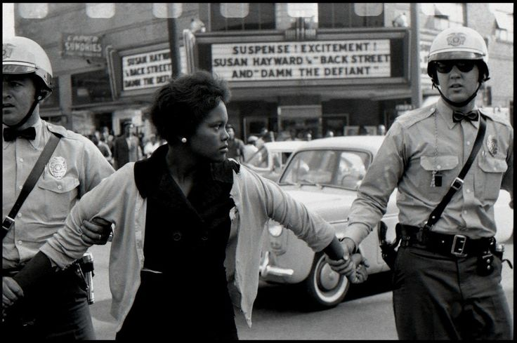 Bruce Davidson, Arrest of a Demonstrator in Birmingham, Alabama, 1963, Milk Gallery