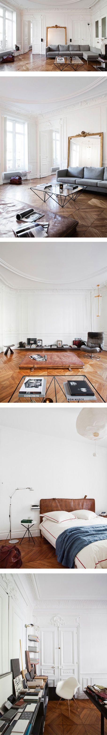 A dreamy 19th-century apartment in Paris