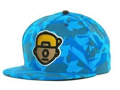 TRUKFIT TRUK DA WURL Strapback Hat Electric Blue OSFA ($32) CAP Wayne LEATHER