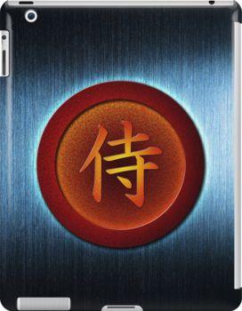 Iron Samurai - iPad case