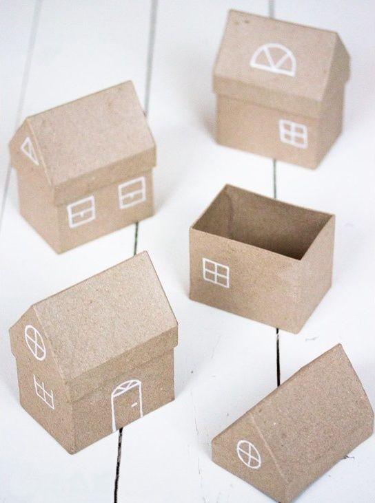 Huisje karton | Stationery | WWW.ZINKENZO.NL