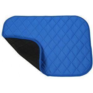 Wasbare onderlegger voor stoel of bed blauw ADL530
