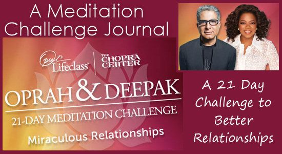 Oprah and Deepak Meditation Challenge