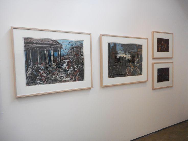 Installation of David Fairbairn's 2014 exhibition.