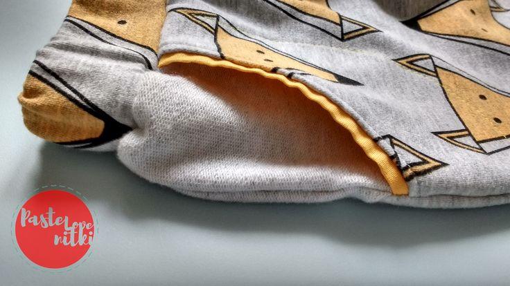 Spodnie w lisy. Handmade foxy pants.