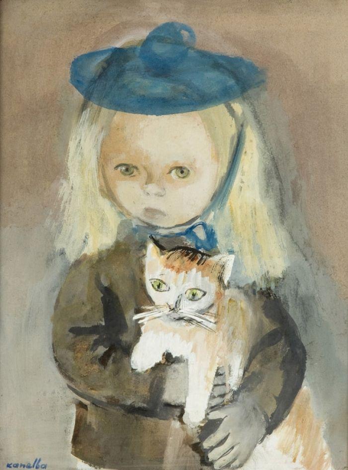 Rajmund Kanelba - Ania z kotkiem