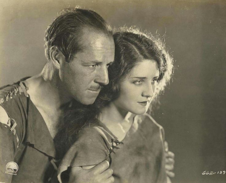 """sweetheartsandcharacters: """"Jack Holt and Norma Shearer, """"Empty Hands"""" (Victor Fleming, 1924). """""""