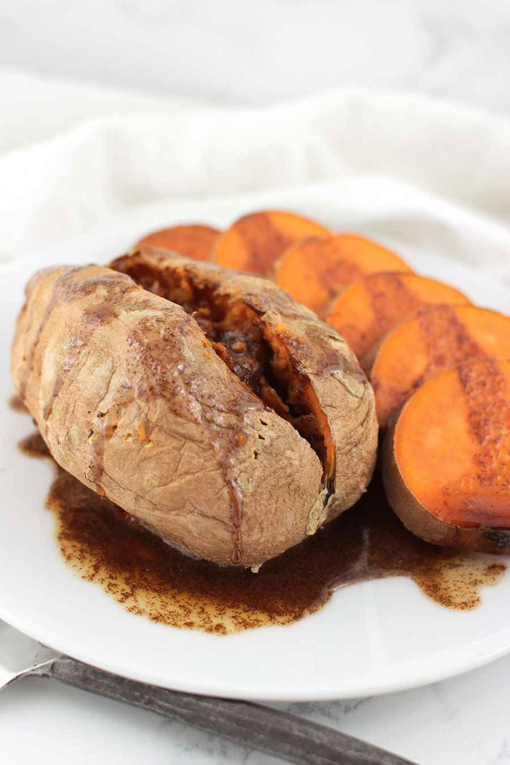 What kinds of foods do you think of when you think of November? Pumpkin pie, probably. Stuffed turkey and mashed potatoes. Cider or mulled wine, something warm and autumnal to fight off the cold. For a lot of people, candied yams or sweet potatoes covered in brown sugar, butter, and marshmallows were always a staple. These Maple-Cinnamon Sweet Potatoes are my Autoimmune Protocol-friendly answer ...