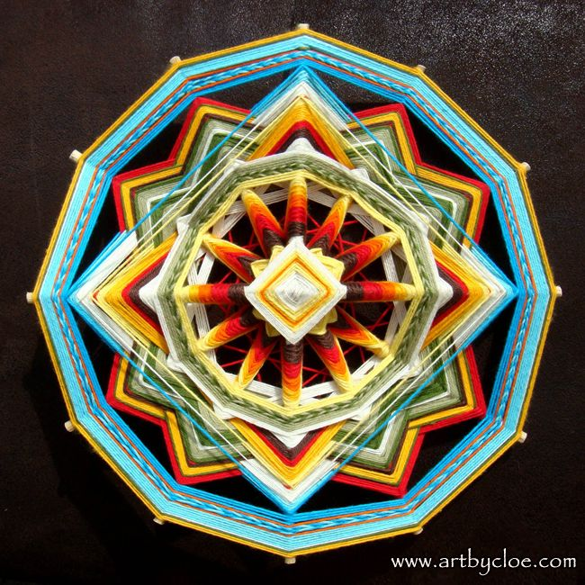 I was looking around on Etsy the other day, when I discovered MandalaArtByCloe.  I was immediately drawn in by the bright colors, and contrasting designs of these mandalas. The artist, Cloe lives i...