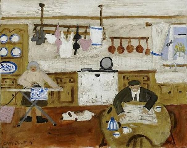 AGA (painting by Gary Bunt)