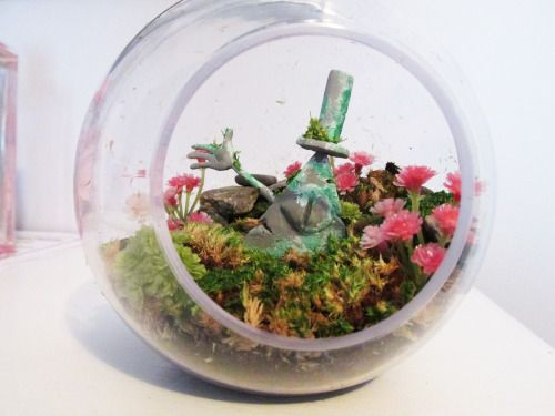 Bill Cipher Terrarium