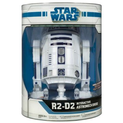 Star Wars Interactive R2D2 Astromech Droid Robot | Cyber Toy