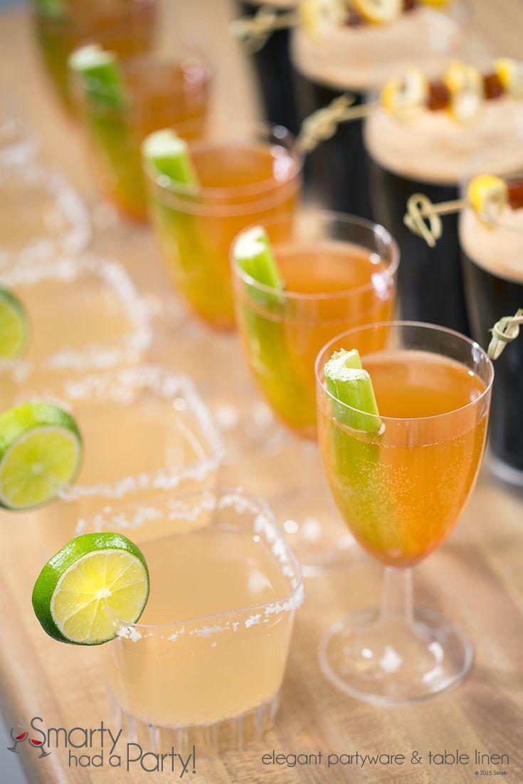 Disposable Cocktail Bar Glasses | SmartyHadAParty.com
