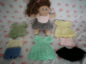 Crochet Cabbage Patch Kid Doll Clothes Tutorial
