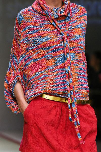 Kristina Ti at Milan Fashion Week Spring 2013 - StyleBistro
