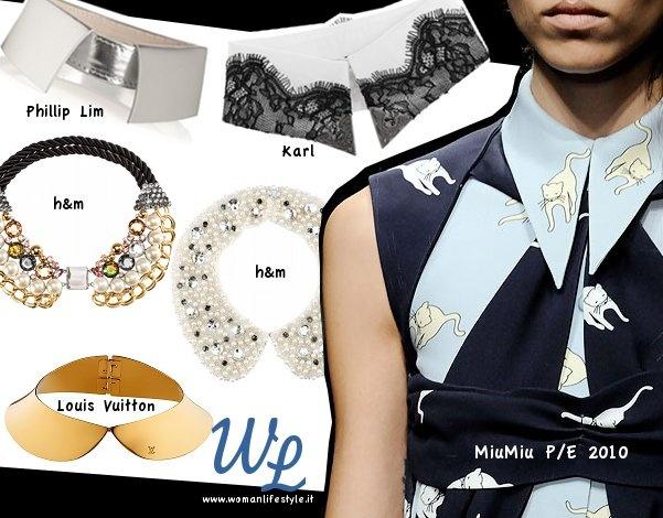 Come indossare i #colletti (#accessori, #musthave #tendenze)    #Howto #wear #collars