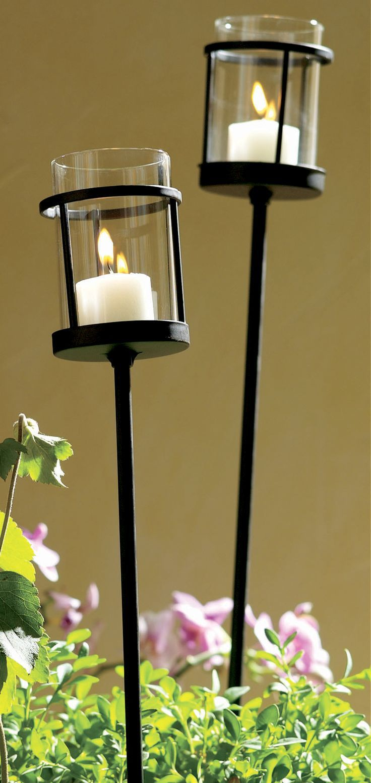 Outdoor Garden Candle Lanterns
