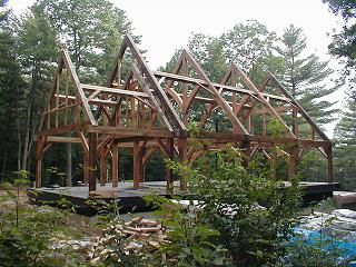 Build Your Own Timber Frame - Guide to building a timber frame home