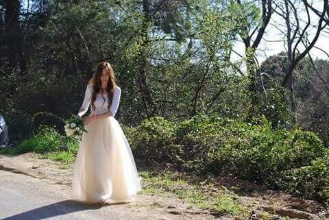 Υπέροχη Νύφη με φούστα Joanna Misseli
