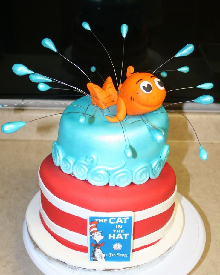 Children S Birthday Cakes By Michele Pictures : 17 Best images about Cat In The Hat Children s Birthday ...