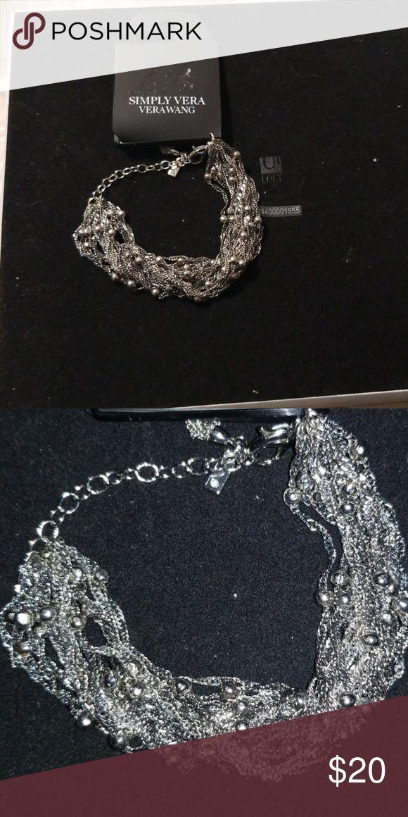 Bracelet Silver new Simply Vera Vera Wang Jewelry Bracelets – #Bracelet #Bracele…