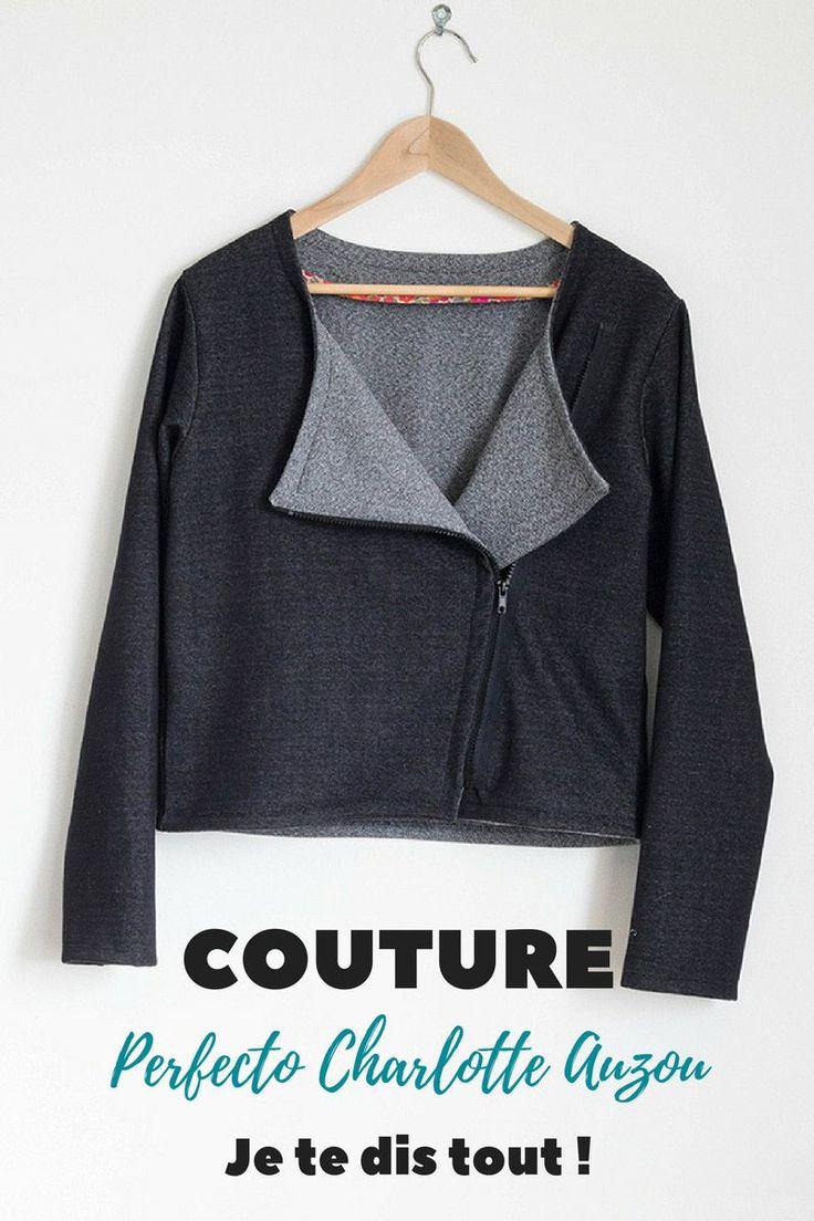 Le Perfecto Charlotte Auzou dans ma garde robe capsule, je te dis tout! http://avrilsurunfil.com/perfecto-charlotte-auzou/ #couture #diy