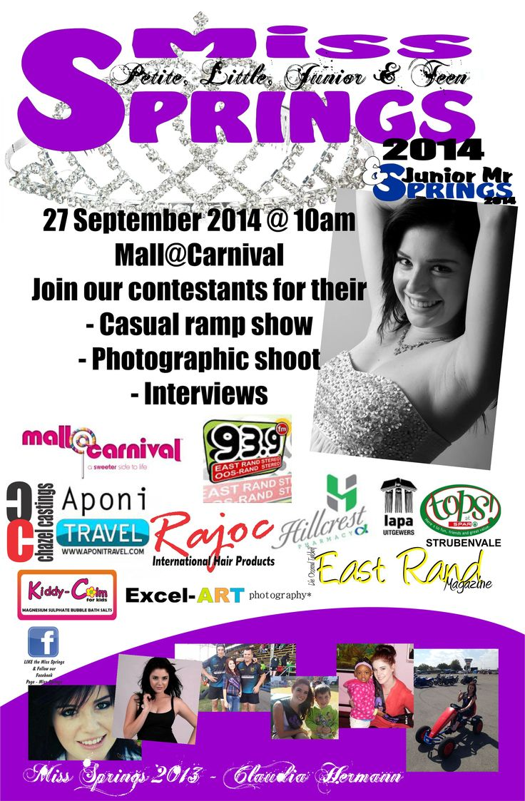Join us at Mall@Carnival 27 September 2014