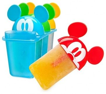 Summer Brights Mickey Mouse Popsicle Molds modern kitchen tools