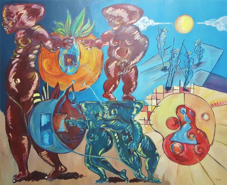 """Sergi Peragón: """"Los viajeros / The Travellers"""" (2011) - Subasta Real"""