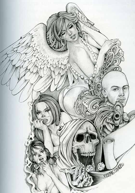 TattooLove on Pinterest | Chicano Art, Sugar Skull and Chicano