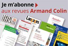 Les Revues Armand Colin c'est… | Armand Colin Revues