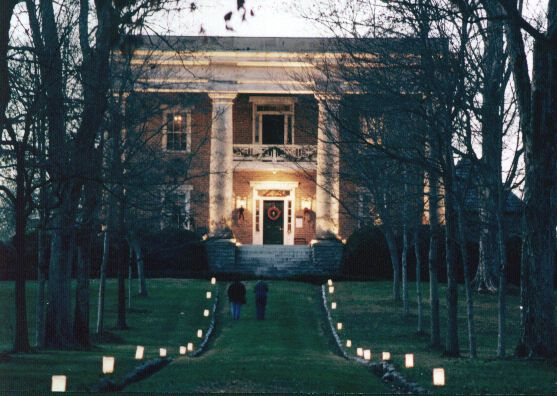 Pictured Gordon Lee Mansion An Antebellum Plantation Downtown ChattanoogaWedding VenuesWedding