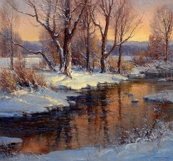 Landscape painting by Robert Peters