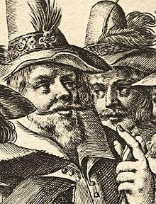 Engraving of John and Christopher Wright of the Gunpowder Plot to blow up the House of Lords with King James I in 1605. both died 8 Nov 1605 shot in a firefight after the plot was discovered.