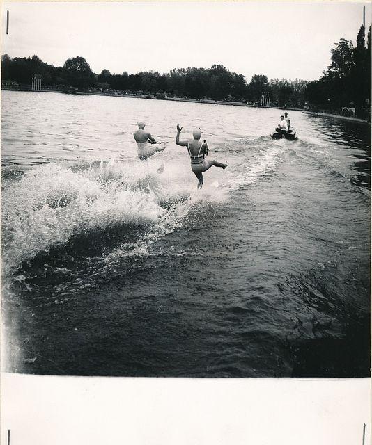 Esquí acuático en el Lago de la Casa de Campo