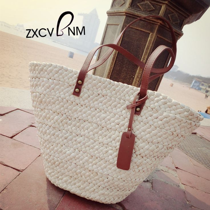 ZXCVBNM Summer Women Woven Beach Bag 2017 Female Handmade Messenger Bag Womens beach bag Crossbody bag Boho Bolsa Feminina WH113