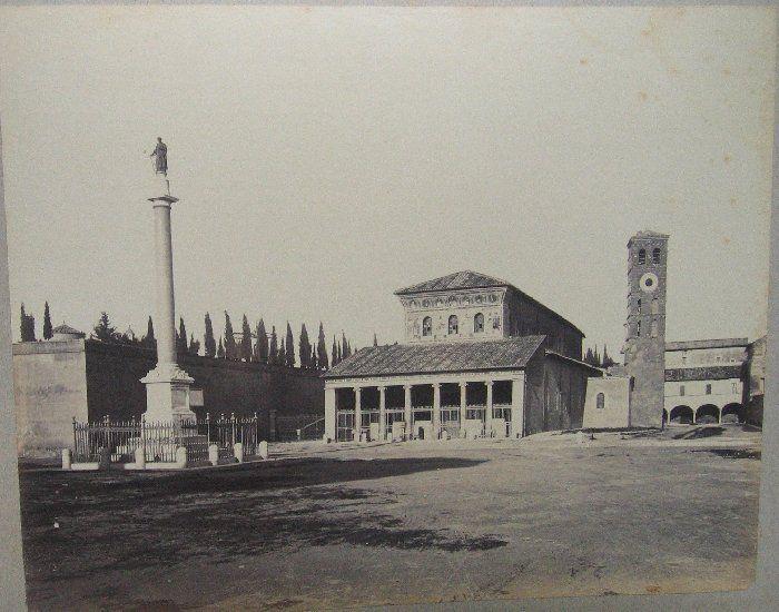 (Roma - Basilica di S. Lorenzo fuori le mura) 1880