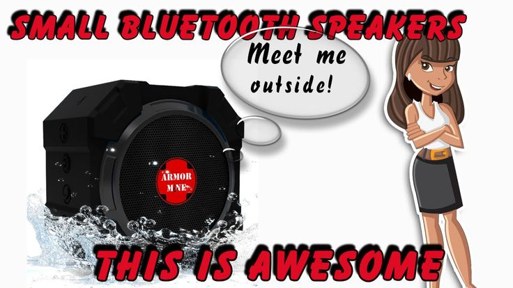 Check Out These Small Bluetooth Speakers On Amazon http://youtu.be/yN5HdAg2qAo