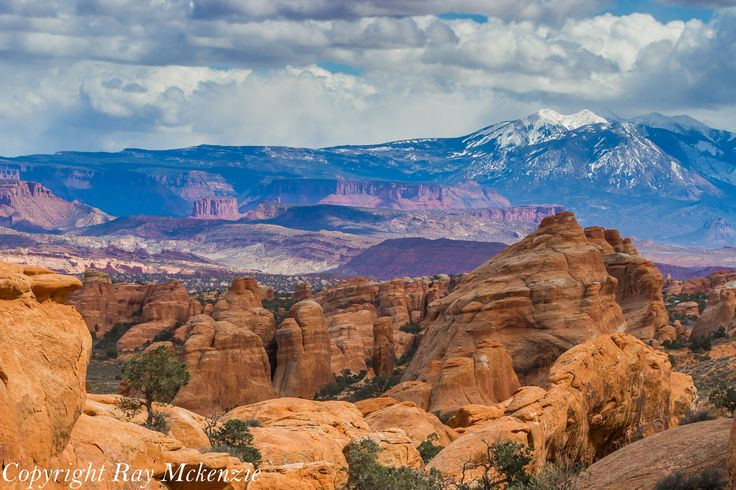 Arches NP looking east...