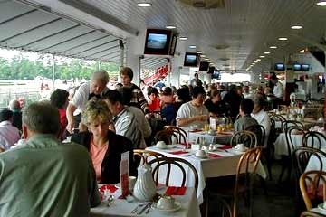 Clubhouse Breakfast At Saratoga Race Course to watch the horses work out. Sunday