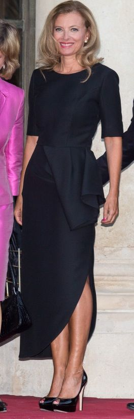 Valerie Trierweiler Style