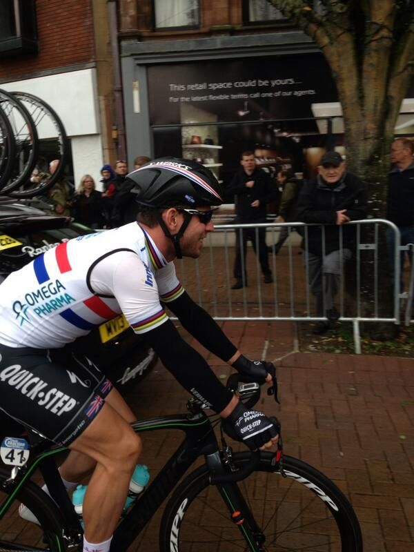 #tob2013 Mark Cavendish in Carlisle at start of day 2