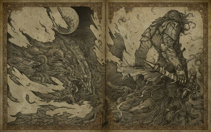 Artsy Fartsy Dark Souls Ii Concept Art: Castlevania Lords Of Shadows Demo Illustration, Jorge