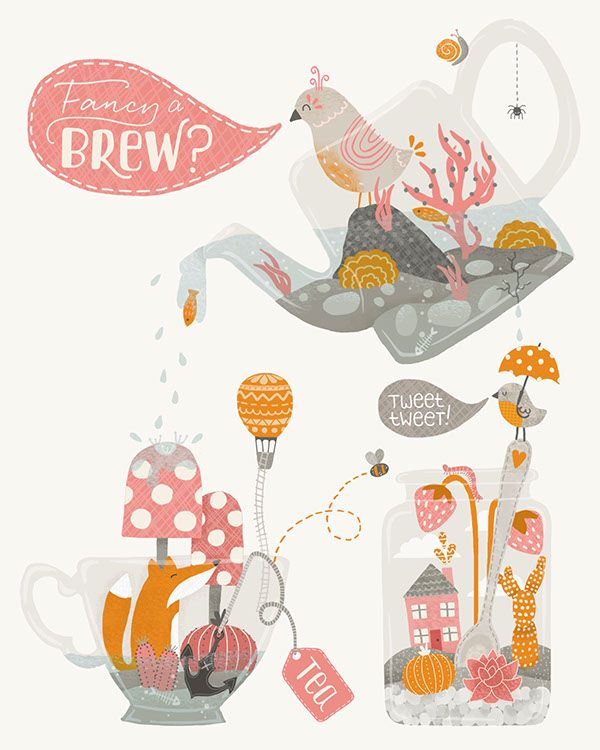 Fancy a Brew, Lilla Rodgers Competition Entry on Behance