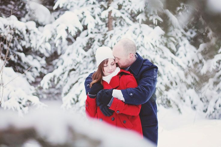 Erin & Craig's Winter Engagement Session | K. Thompson Photography